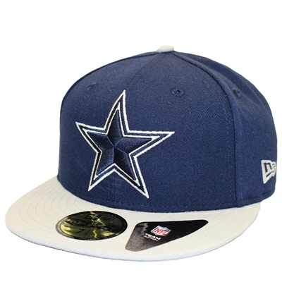 New Era 59Fifty Dallas Cowboys 5-Times Super Bowl Championship Navy Gray Fitted  Hat 3b3c64411
