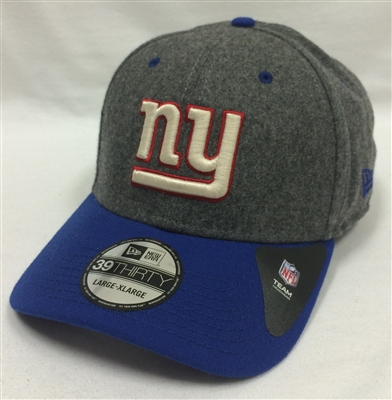 fb86442a683 New Era 39Thirty Melton Top New York Giants Gray   Blue Flexfit